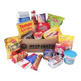 Geschenkset Ostprodukte Ostpaket mit 18 typischen Lebensmitteln der DDR - Geschenkidee