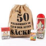 Cera & Toys Geburtstagsgeschenk Set 50 (4-Teilig)