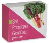Set Poppiges Gemüse - die ausgefallene Geschenkidee: Selbst säen, züchten und ernten - bringt Farbe in die Küche!