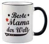 Tasse Beste Mama der Welt Vintage Style - Geschenk - Mutter - Muttertag
