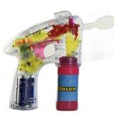 Seifenblasenpistole mit bunter LED-Beleuchtung inkl. Seifenflüssigkeit